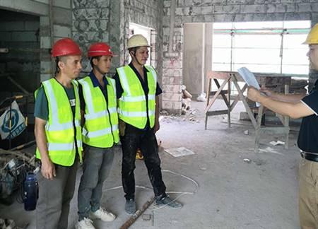 顺德职业技术学院-广东亚琛项目安全三级教育